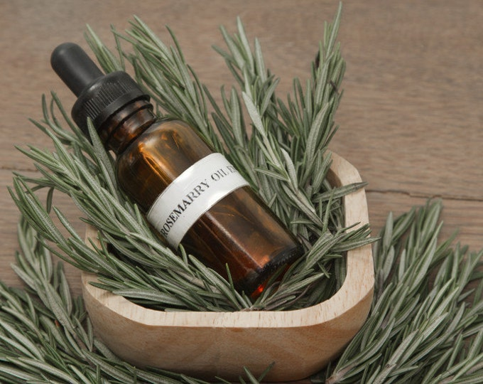 Organic Rosemary Essential Oil, Pure Rosemary Essential Oil, Roll On Oil, Aromatherapy Oil, Stress Relief Oil, Mental Focus Oil, Clarity Oil