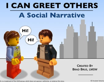 I Can Greet Others! Social Narrative