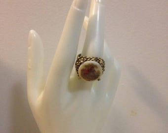Picturesque Romantic Renaissance Style Adjustable Ring