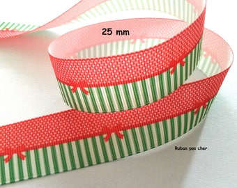 """1 tape with printed Ribbon """"Bailey"""" - 25 mm - not expensive!"""