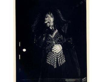 Ann Wilson of Heart Photo 8 by 10 B&W