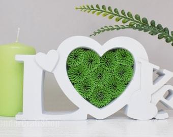 Love Heart Gift, Gift for Son Daughter, Goddaughter Gift, Godson Gift, Baby Nursery Decor, Love Wall Art, Heart Home Decor, Paper Quilling