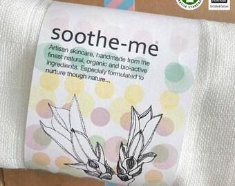 Organic Unbleached Cotton Face Cloth, Hand Woven, Fair-Trade, 60cm x 60cm