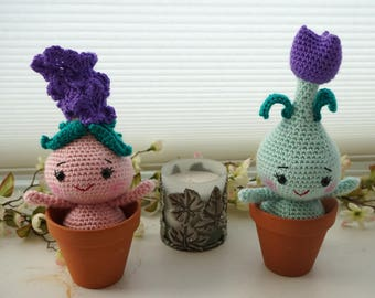 Cute Potted Plant Amigurumi