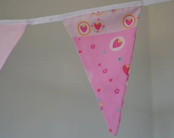 Strawberry Pink Bunting