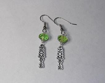 Zombie Earrings in Custom Color