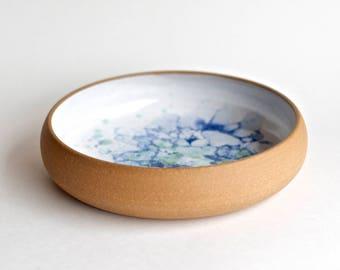 Medium Dinner Plate * Serving Dish  * Tableware * Serveware * Handmade Ceramics * Bubble Glaze