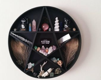 Pentacle shelf