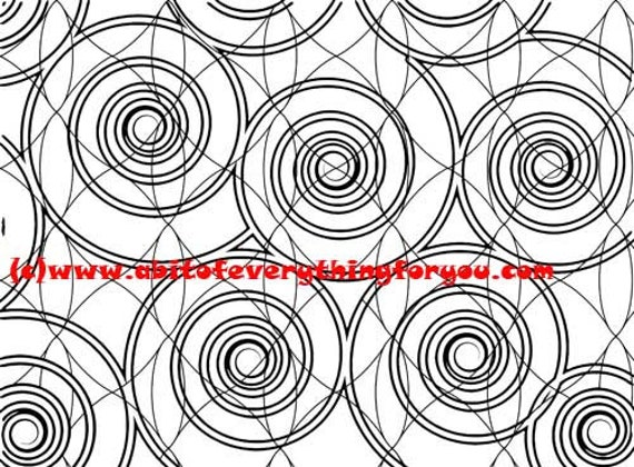 swirls vortex pattern abstract art coloring page printable art download digital colouring pages line art image graphics