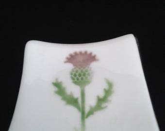 Scottish thistle dish