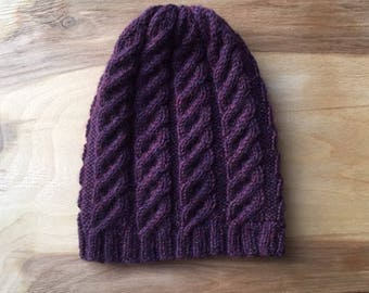 Wool hat for girl