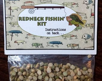 Stocking Stuffer,Redneck fishin' gag gift,funny gifts,hillbilly gifts