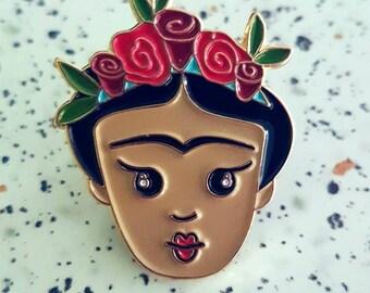 Frida Kahlo Enamel Pin