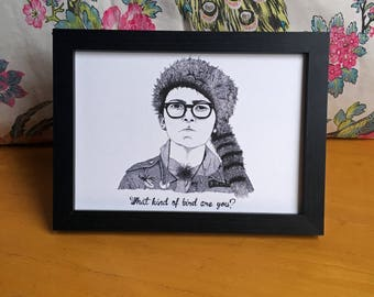 Moonrise Kingdom Sam Shakusky Wes Anderson art print