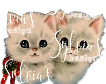 Vintage Kittens digital download