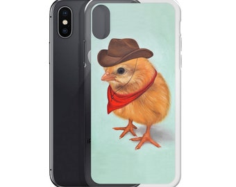 Chick cell phone, chick mobile case, chick samsung case, cowboy chick mobile case, animal phone case, chick art case, chick device case