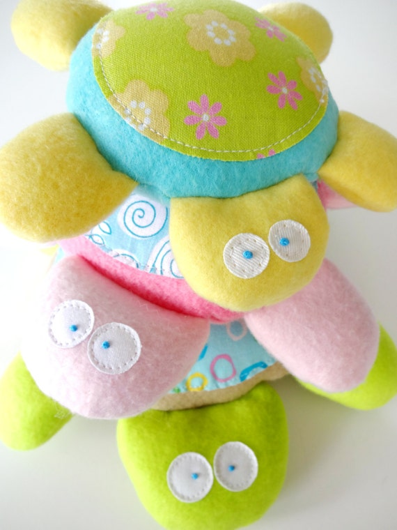 Baby Turtle Softies Toy Sewing Pattern PDF ePATTERN
