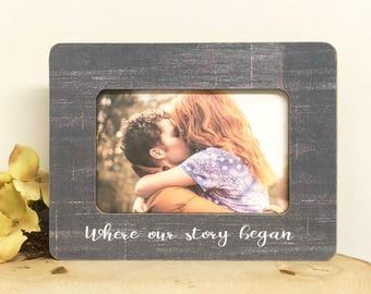 Personalized Engagement Frame- Engagement Couple Gift- Personalized Engagement Gift- Wedding Frame- Engaged Frame