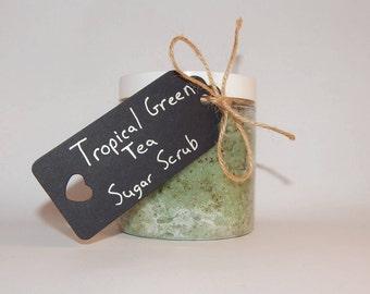 Tropical Green Tea Sugar Scrub