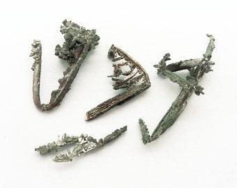 Silver crystals