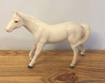 White horse Napcoware made in Japan