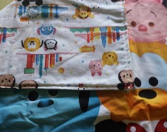 New crib toddler quilt Disney TsumTsum