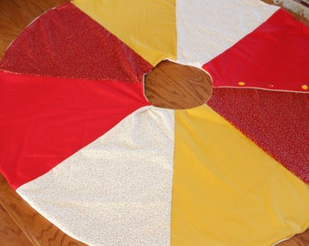 Personalized Christmas Tree Skirt - 54 inches diameter