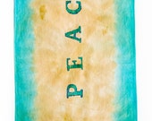 Hand Dyed Cotton Scarf - ...