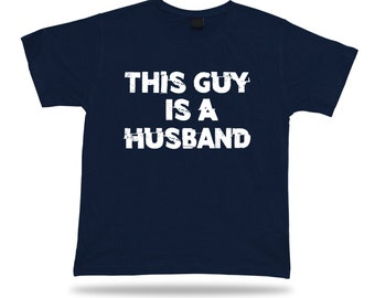 This Guy Is A Super Husband Happy day T Shirt Gift Idea birhday wedding marriage Valentines present tee #N0000045