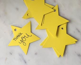 Star Shaped Gift Tags