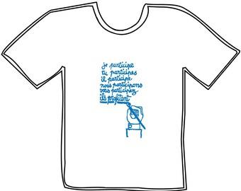 "T-Shirt may 68 ""I am involved..."""