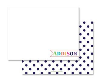 Personalized Stationery - Name Banner