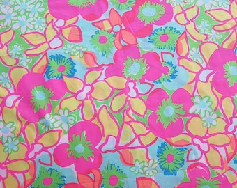 18 x 24 inches Lilly Pulitzer Fabric  Multi Ice Cream Social