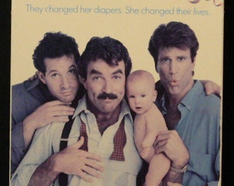 Three Men and a Baby VHS