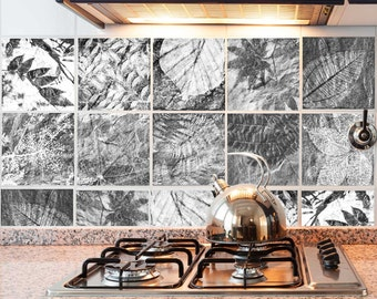 Fossil Slate RETile Decal Collection
