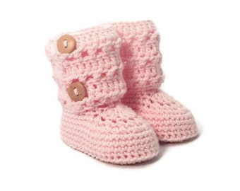 Eyelet Lace Baby Booties