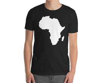 African pride Africa map t-shirt