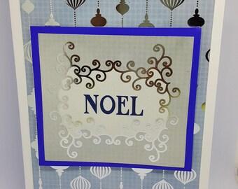 Christmas Ornament Cards - Pckg of 4