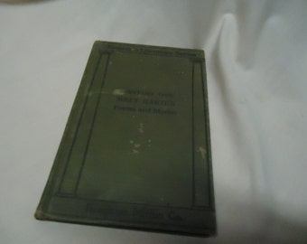Vintage 1912 Poems And Stories Book by Bret Hart, Riverside Literature Series, collectable, hardback