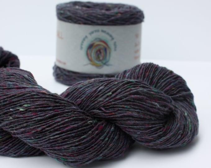 Spinning Yarns Weaving Tales - Tirchonaill 501 Purple Green 100% Merino 4ply