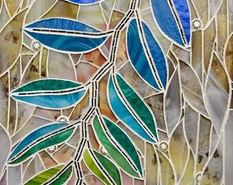 Drake Elm mosaic 11x14 - Matted Giclée Fine Art Print