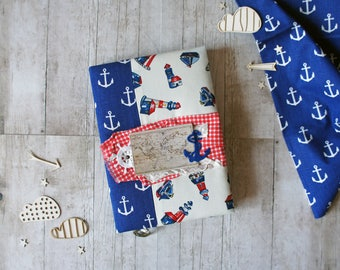 Carnet de notes, carnet de notes Marine, Journal, documentation, motif mer