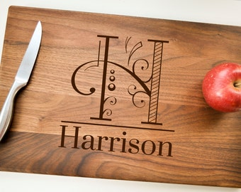 Custom  Cutting Board, Personalized Cutting Board, Engraved Cutting Board, Wedding Gift, Housewarming Gift, Anniversary Gift, Christmas Gift