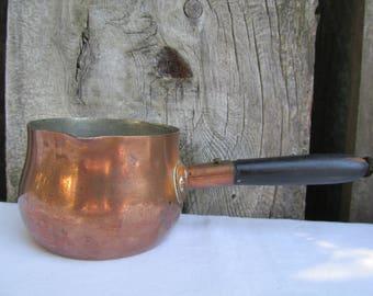 Vintage Copper Butter Warmer