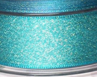 Teal Sparkly Dog Lead