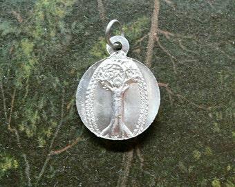 LADY OF CHERRIES Vintage Religious Medal Kerselaar Belgian Medal