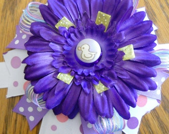 Baby Girl Mommy-to-Be Belly Corsage