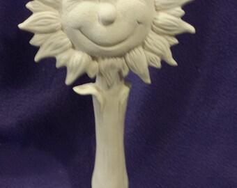 "TL 18""  Sunshine Sunflower ready to paint"