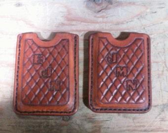 "Leather ""Front Pocket"" or Card Wallet"