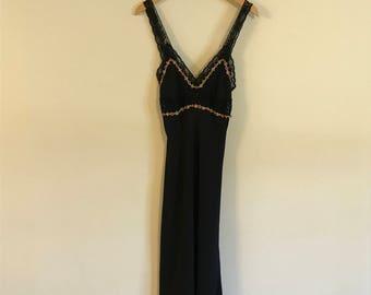 Vintage Betsey Johnson Lace Slip dress